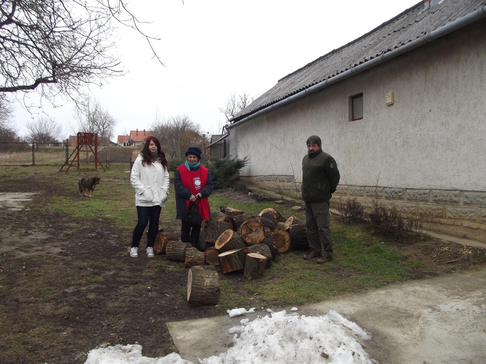 Tűzifa-adomány