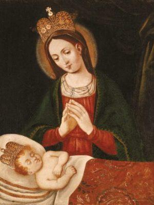 Könnyező Szűzanya (Ír Madonna)