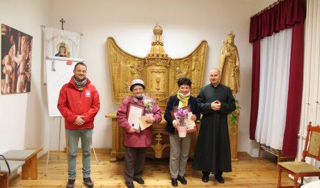 Átadtuk Tatán az idei Caritas Hungarica-díjakat